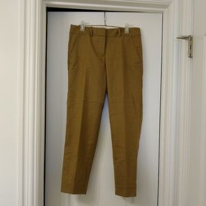 JCrew skimmer city fit pant
